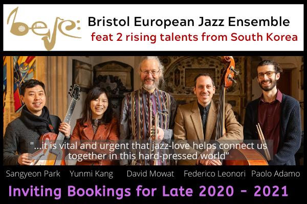 BEJE Winter Jazz Showcase 2020